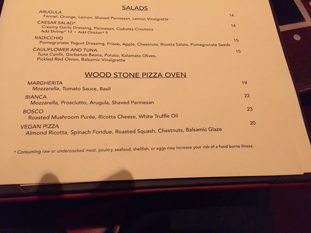 Allegro Pizza Vegas